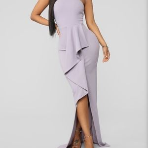Fashion Nova Lavender Dress